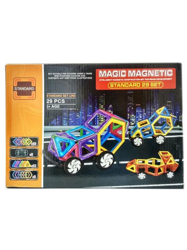 Магнитный конструктор «Magic Magnetic» JH6866 29 деталей
