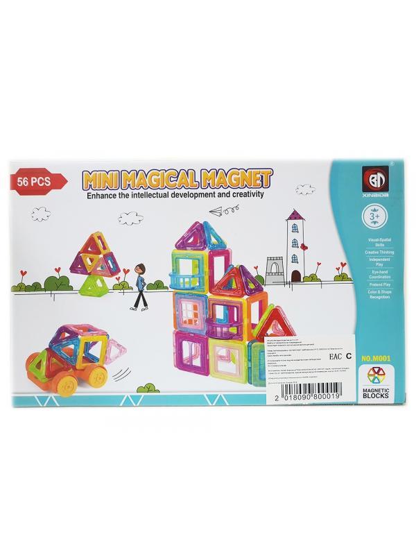Магнитный конструктор «Mini Magical Magnet» M001 56 деталей