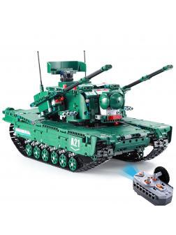 Конструктор Cada «Танк M1A2» на радиоуправлении 1498 деталей / C61001W