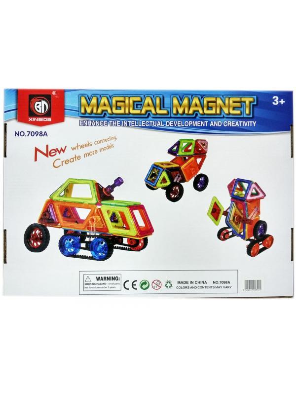 Магнитный конструктор «Magical Magnet» 7098A 98 деталей