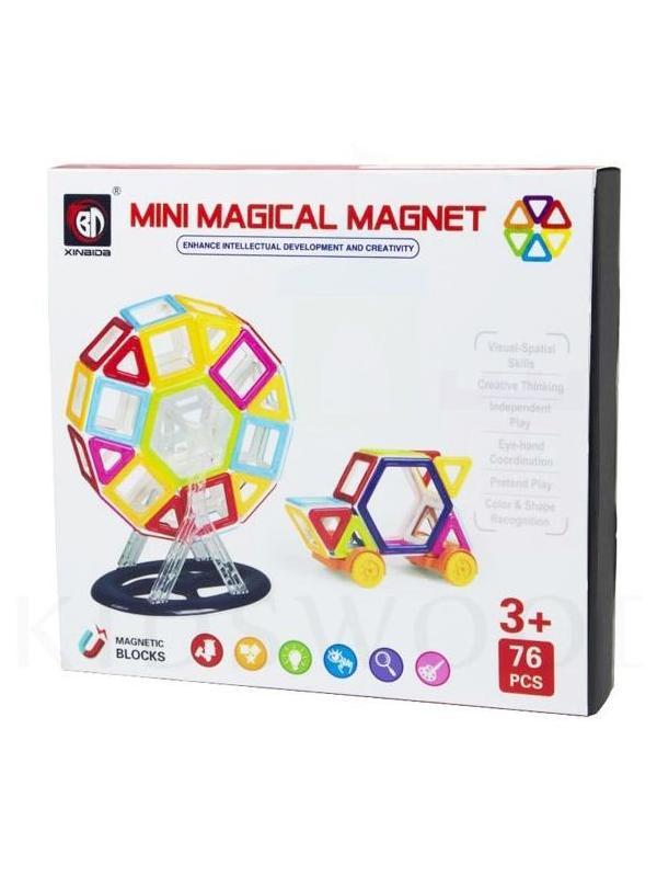 Магнитный конструктор «MINI Magical Magnet» 719 76 деталей