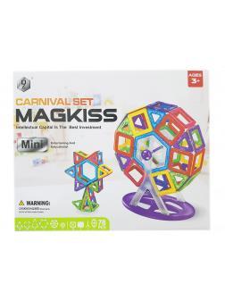 Магнитный конструктор «MagKiss Mini» HD342A 78 деталей
