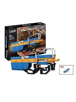 Конструктор Cada «Пистолет-пулемет P90» 581 деталь / C81003W (стреляет)