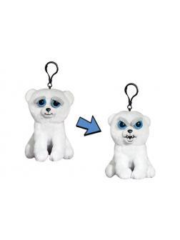 Мягкая игрушка «Злой / Добрый Медведь белый с карабином» 11 см FP013M