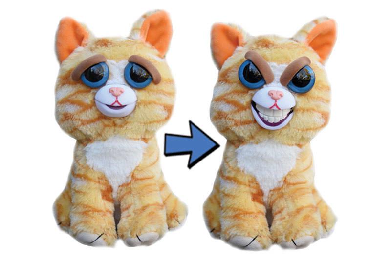 Мягкая игрушка «Злой / Добрый Кошка рыжая» 20 см FP002E