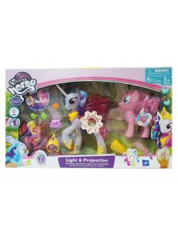 Игровой набор My Little Pony «Принцесса Селестия» 20 см. и 2 пони 2031-2