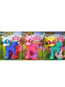 Игровой набор My Little Pony 3 пони 15 см SM8817
