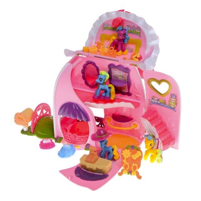 Игровой набор My Little Pony «Домик-сумочка для Пони» 2386