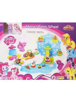 Игровой набор My Little Pony с пластилином «Колесо обозрения Плей-До» SM8019