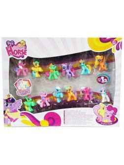 Игровой набор My Little Pony 12 маленьких пони 4 см 3230A