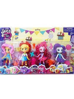 Игровой набор My Little Pony «Куклы Эквестрия герлз» 69804-1