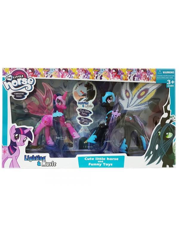 Игровой набор My Little Pony «Принцесса Луна и Сумеречная искорка» 20 см SM2077-3