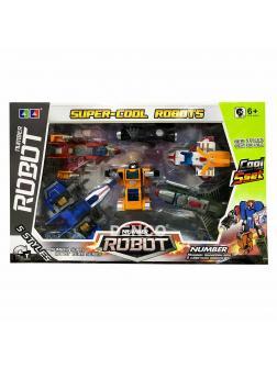 Большие «Number Robot» Космобот (Космос) XL (Цифры 1-5)