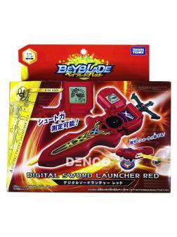 Запускатель BEYBLADE Burst «Электронный Меч Ксандера Шакадера» (Digital Sword Launcher Red) B-94 от Takara Tomy