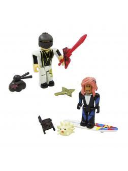 Набор из 2-х фигурок Роблокс (Ninja Assassin: Yang clan Master, Sharkbite Surfer) 42110