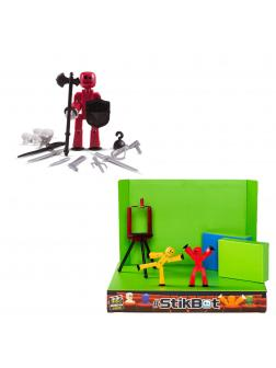 Комбо набор Стикбот №4 «Студия и Оружие» 15009