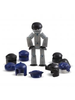 Фигурка с аксессуарами Стикбот Action Pack Серия 1 «Шлемы» 15126
