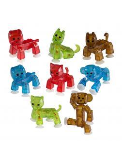 Комплект Стикбот Животные 8 разных фигурок 15141