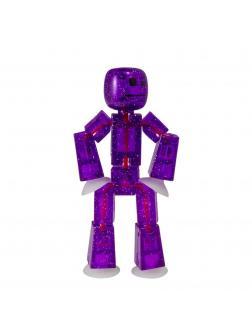 Фигурка Стикбот «Блестящий StikBot - Фиолетовый» 15032