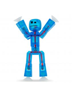 Фигурка Стикбот «StikBot - Полупрозрачный Синий» 15033