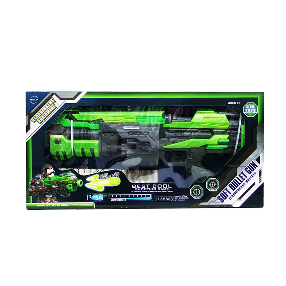 Пулемёт Fluorescent Bullets «Soft Bullet Gun» FJ553