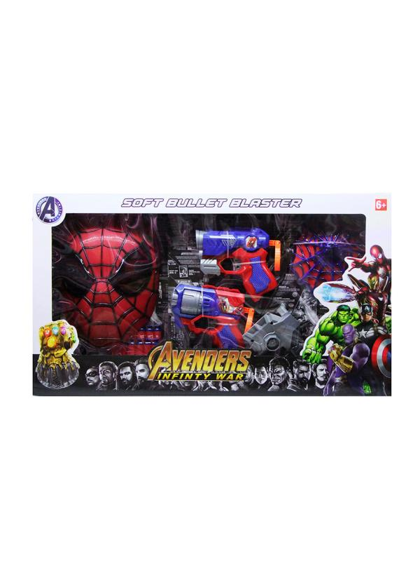 Набор Soft Bullet Blaster Avengers «Spider-Man» SB458-C