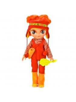 Говорящая кукла Алёнка в зимней одежде «Карапуз» 24001