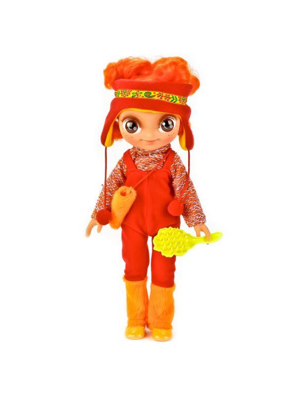 Говорящая кукла Сказочный патруль Алёнка в зимней одежде ...