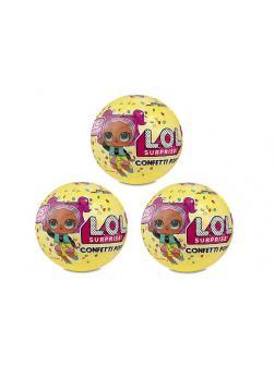 Кукла L.O.L Confetti Pop (L.O.L. Series) 3 шт 13091