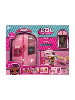 Набор для куклы L.O.L. «Большой Холодильник-Кухня» с множеством аксессуаров 13077