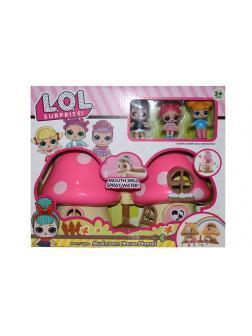 Набор для куклы L.O.L. Домик «Гриб» раскладной 13058