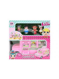 Набор для куклы L.O.L. «Дом на колесах - Camper Car» раскладной 13045