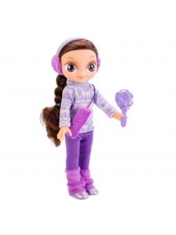 Говорящая кукла Варя в зимней одежде «Карапуз» 24002
