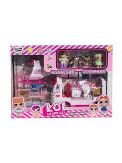 Набор для куклы LOL Surprise «Emergency Ambulance» 13086