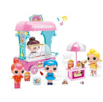 Набор для куклы LOL Surprise «Тележка с мороженым» 13055
