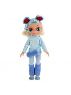 Говорящая кукла Снежка в зимней одежде «Карапуз» 24004
