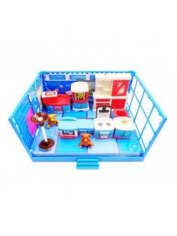 Игровой набор Модульная комната «Кухня» с эффектами, 12 предметов PT-00909