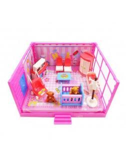 Игровой набор Модульная комната «Детская» 13 предметов,  с эффектами PT-00912