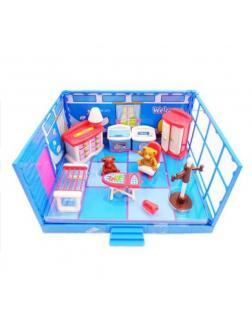 Игровой набор Модульная комната «Гладильная» с мебелью и аксессуарами, 13 предметов PT-00908