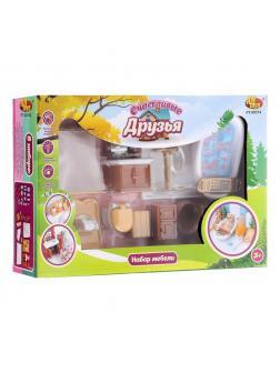 Игровой набор «Мебель для ванной комнаты» PT-00314