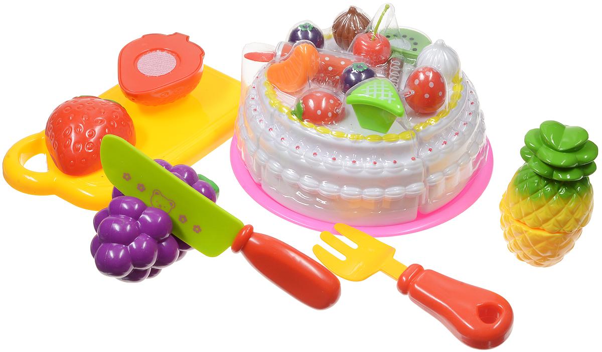 Игрушечный набор продуктов 8 предметов за 1 шт. PT-00282