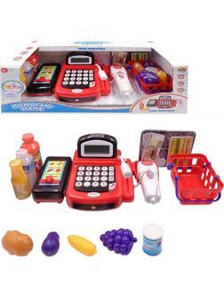 Игровой набор «Касса» с продуктами и аксессуарами, 31 предмет PT-00829