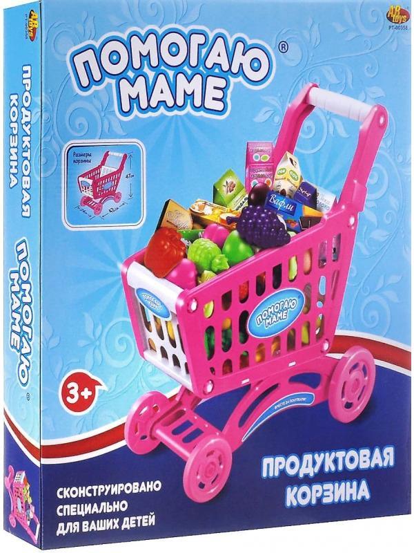 Игровой набор «Продуктовая корзина» PT-00358