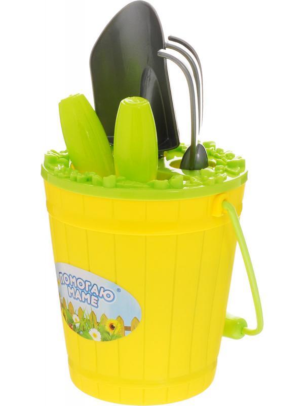 Игрушечный набор для юного садовода 10 предметов PT-00604