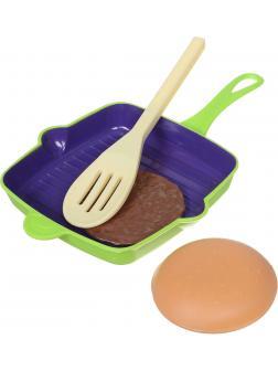 Игровой набор «Посуда и продукты» 4 предмета PT-00362