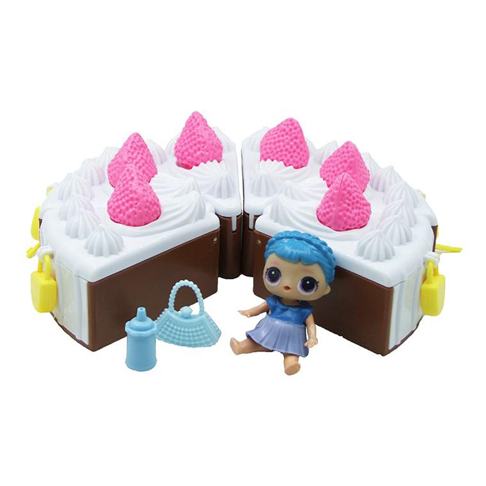 Кукла L.O.L. Surprise «Кусочек тортика» с замочком 13075