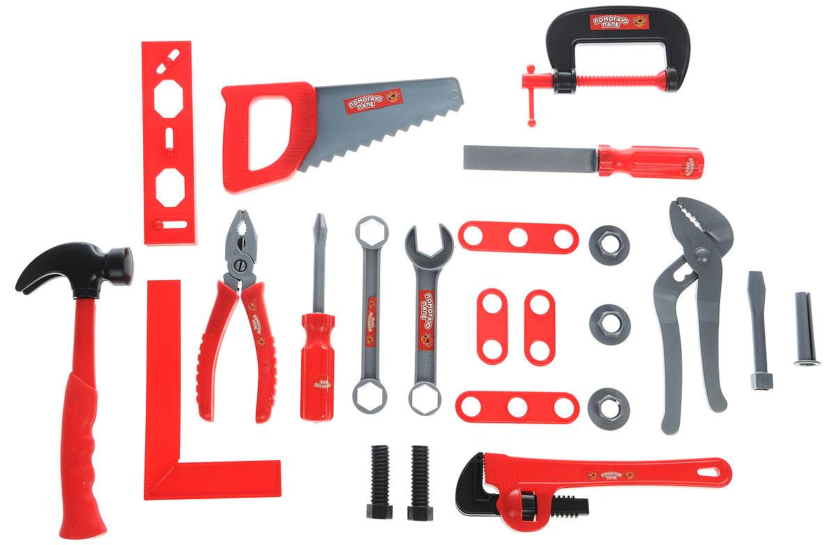 Игровой набор инструментов 23 предмета PT-00273