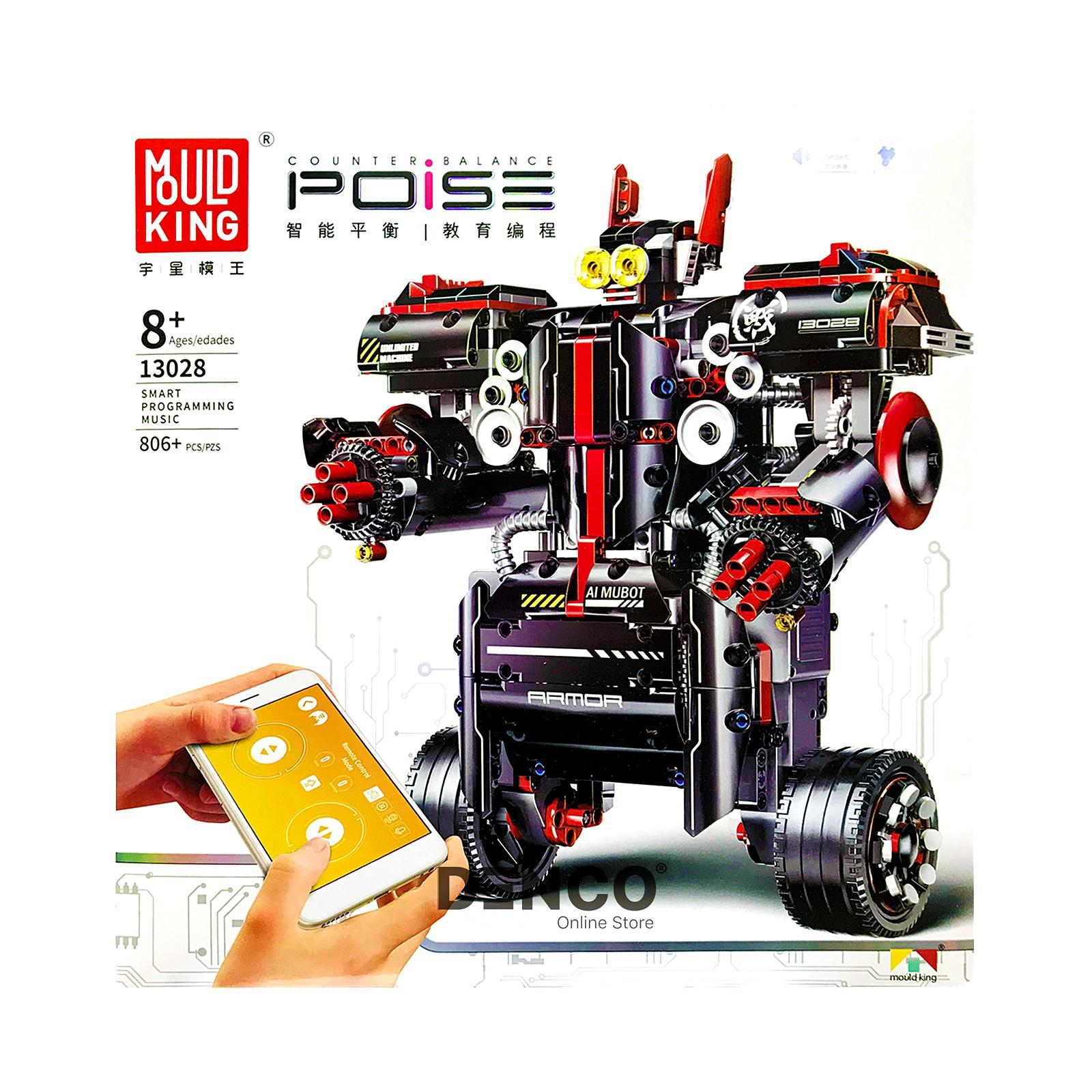 Конструктор «Боевой Робот» на радиоуправлении 13028 (Technic), 806 деталей