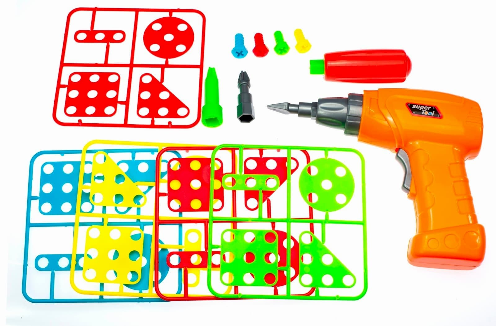 Конструктор-Мозаика Creative Magic Panel с шуруповертом и отверткой / 151 элемент