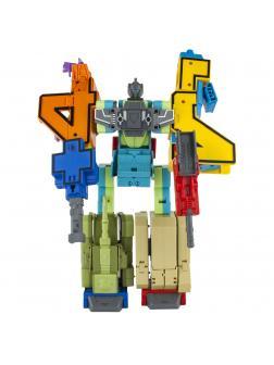 Игровой набор Трансботы L «ВДВ: Ударный батальон» Цифры 0-4 и 5 знаков 1TOY